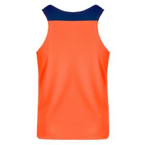 vest naranja fluor