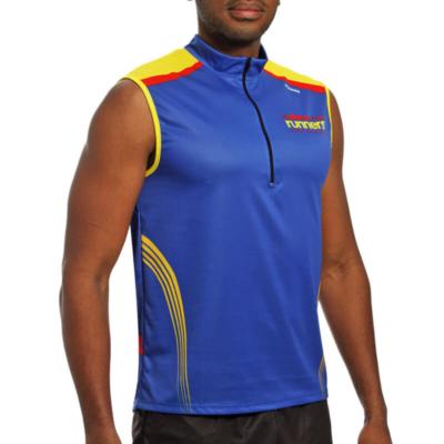 Camiseta trail sin mangas Atletismo