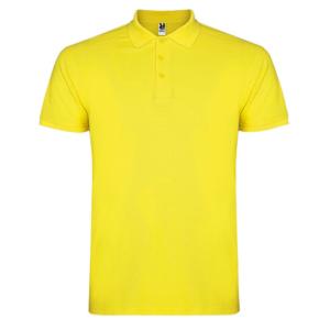 Polo algodón amarillo