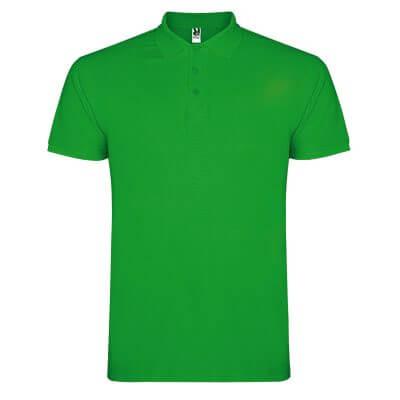 Polo algodón verde