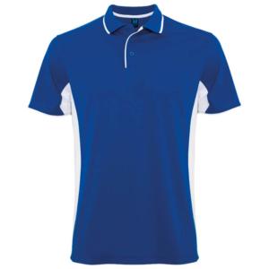 Polo tecnico sport azul