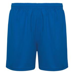 Short técnico azul