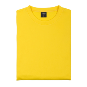 Sudadera Técnica Básica amarillo