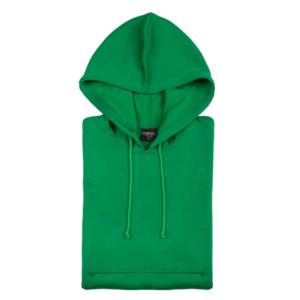 Sudadera Técnica Capucha verde