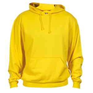 Sudadera algodón amarillo