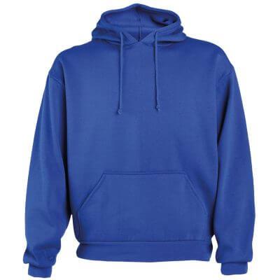 Sudadera algodón azul