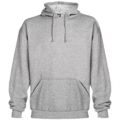 Sudadera algodón grises
