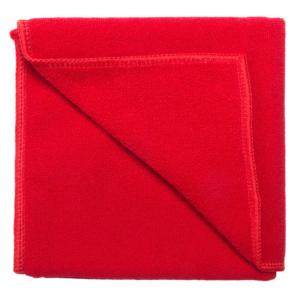 Toalla Microfibra Mano roja