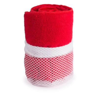 Toalla Microfibra rojo