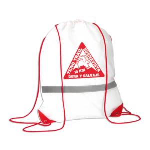 bolsa del corredor rojo