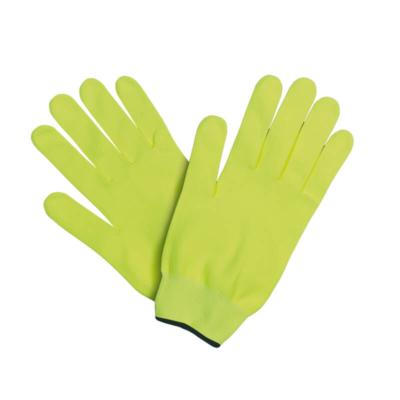guantes running pistacho