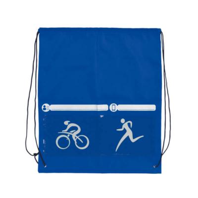 mochila triathlon azul