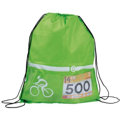 mochila triathlon verde