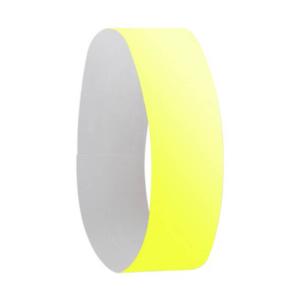 pulsera evento amarillo fluor