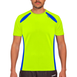 Camiseta wave amarillo