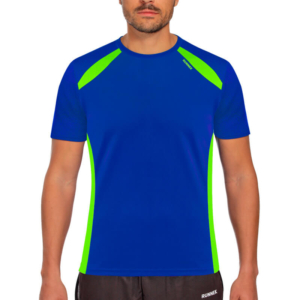 Camiseta wave azul