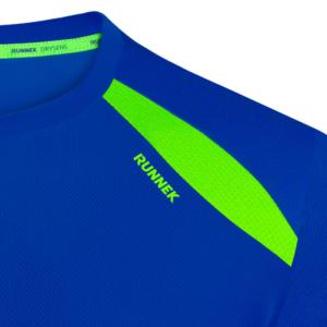 Camiseta wave azul mujer