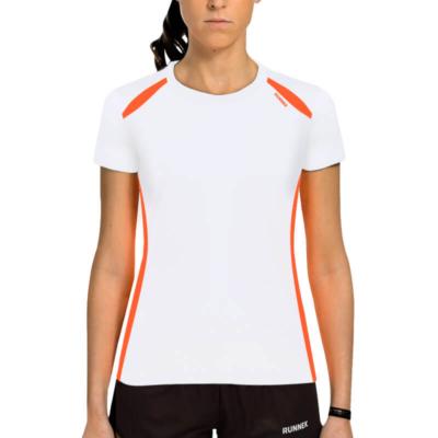 Camiseta wave blanca mujer