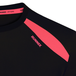 Camiseta wave negra mujer
