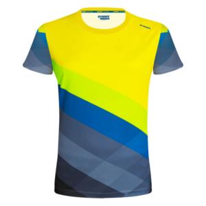 camiseta tecnica pure amarillo mujer