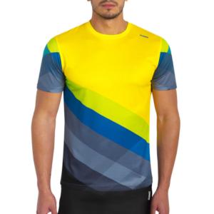 camiseta tecnica pure amarilla