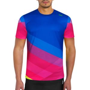 camiseta tecnica pure azul