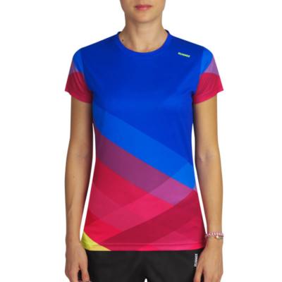 camiseta tecnica pure azul mujer