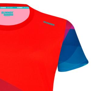 camiseta tecnica pure rojo mujer