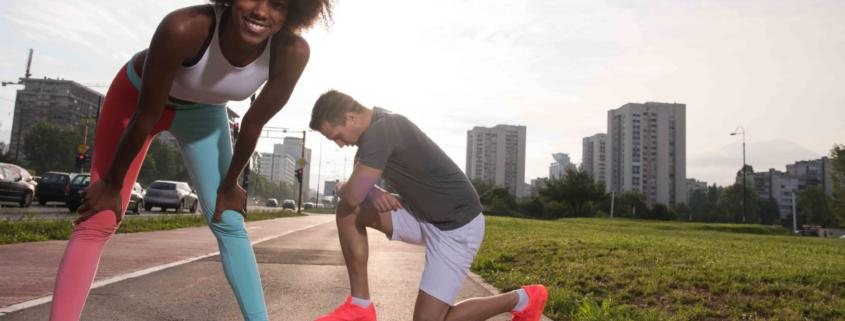 ¿Se pueden definir los abdominales practicando running? 1