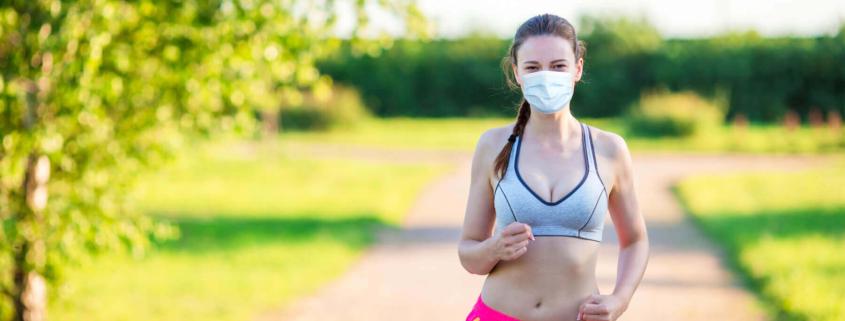 ¿Cómo correr con mascarilla deportiva? 1